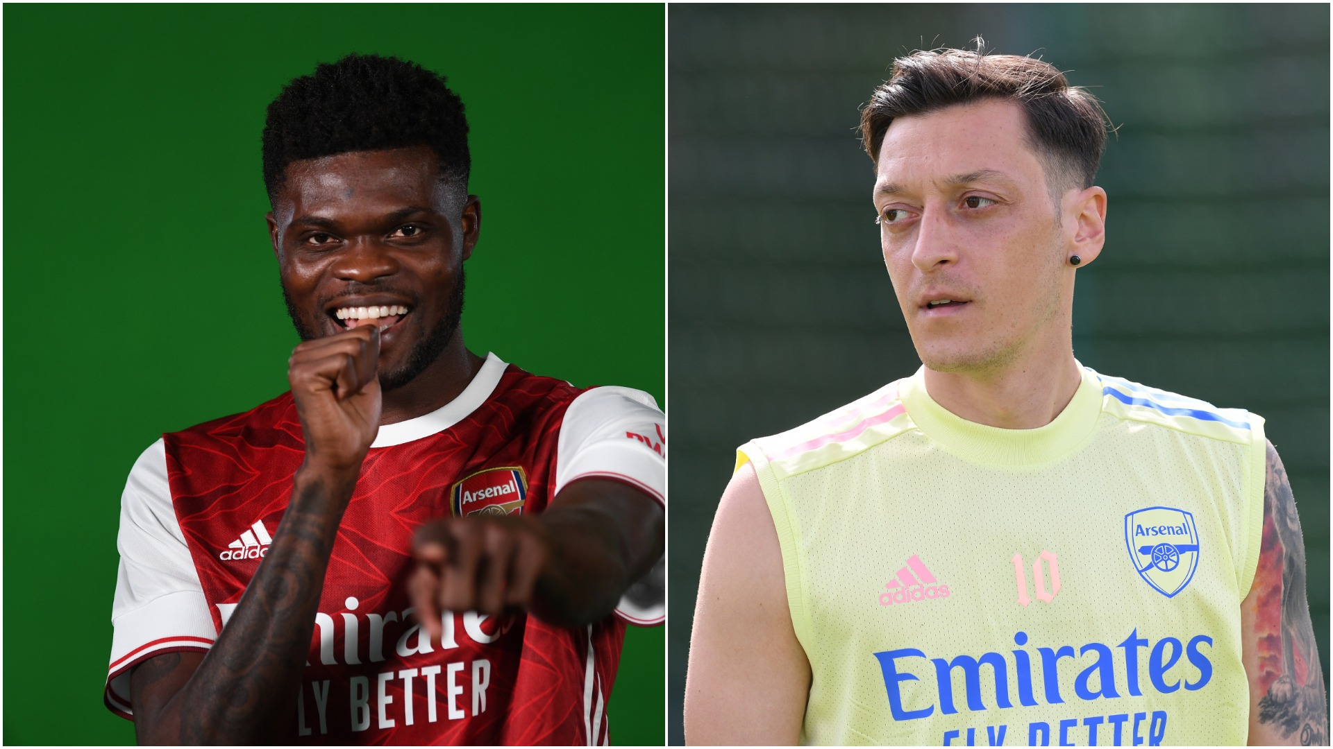 Ozil Europa League decision was 'really difficult' but Arteta welcomes Partey 'buzz' at Arsenal