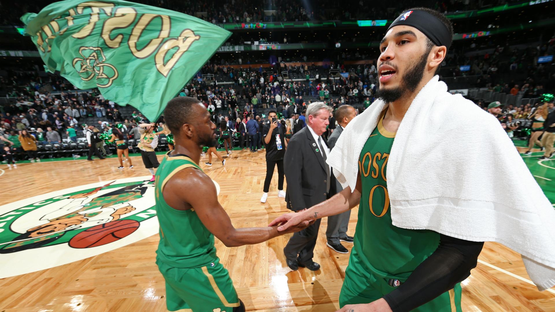 Tatum and Boston's dynamic trio – Celtics season review in Stats Perform data