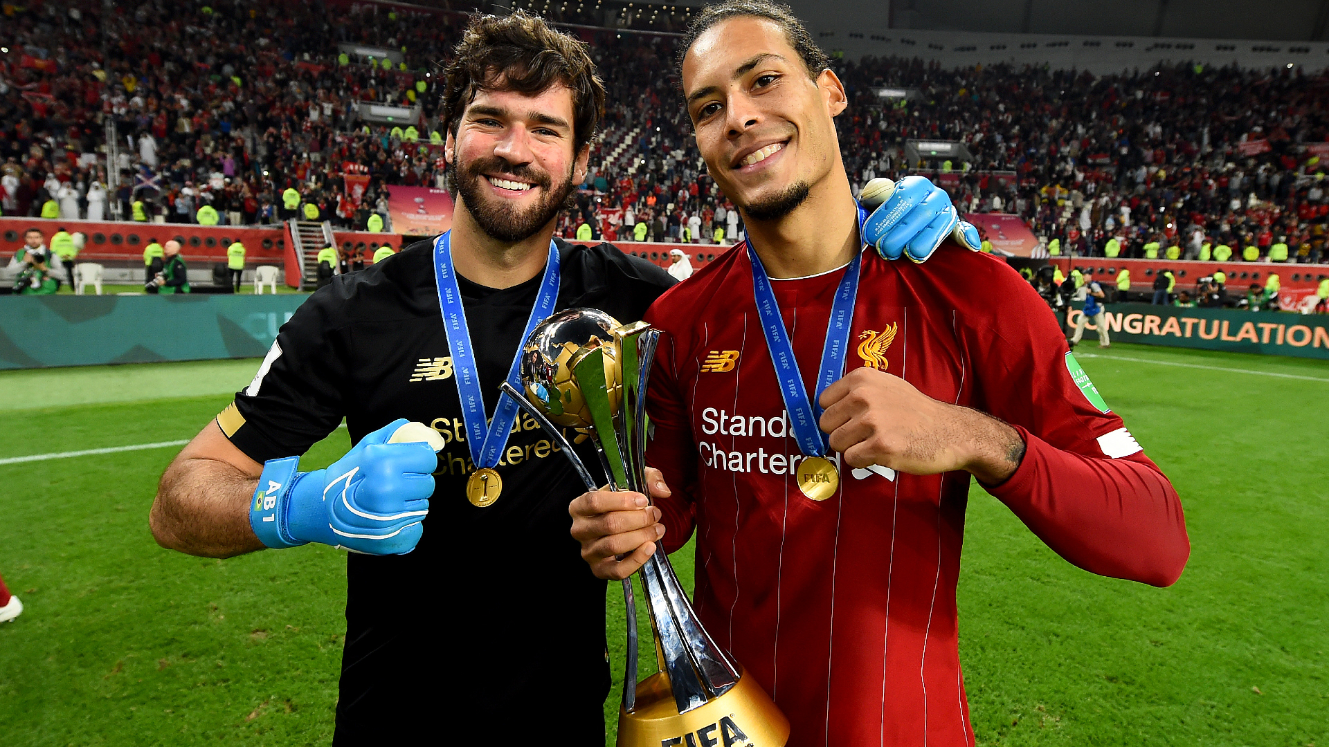 How do Liverpool compare with and without Alisson and Van Dijk?