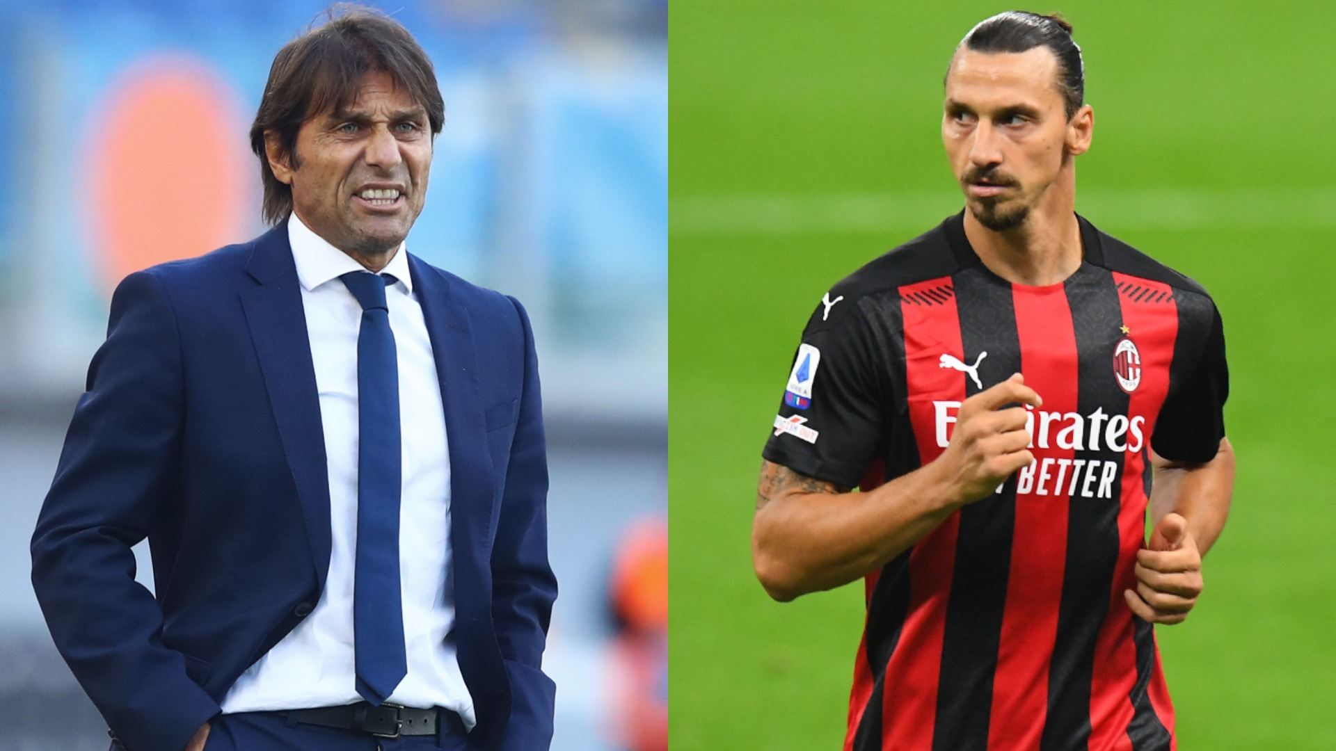 Is Zlatan the man to stop Conte's record-chasing Milan derby run?
