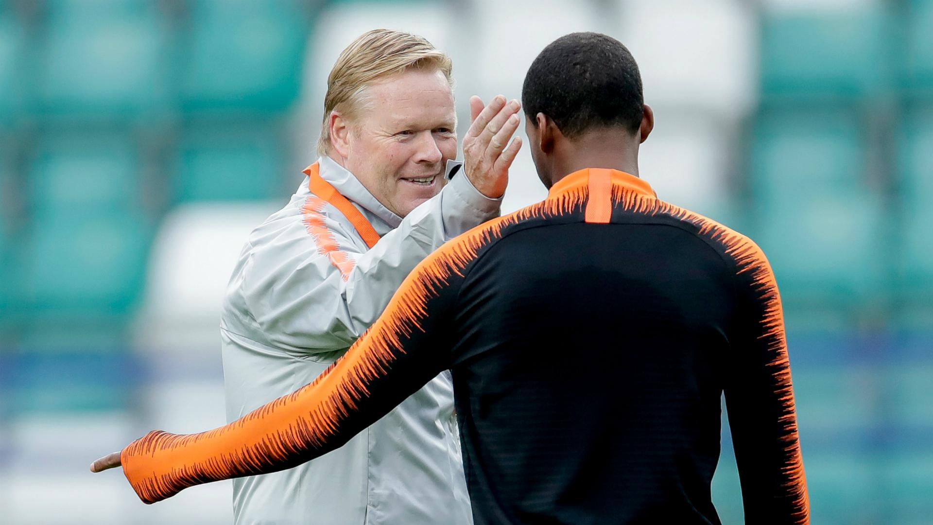 Koeman confirms Barcelona interest in Wijnaldum and remains hopeful of Depay deal