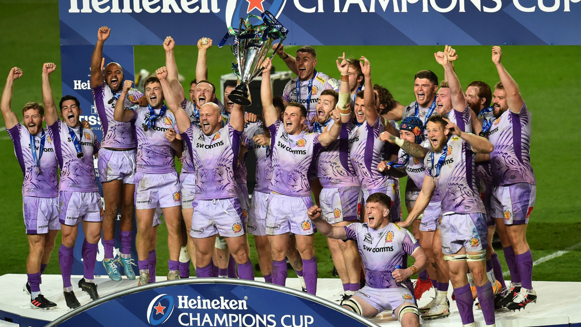 Exeter Chiefs beat Racing in Champions Cup final thriller