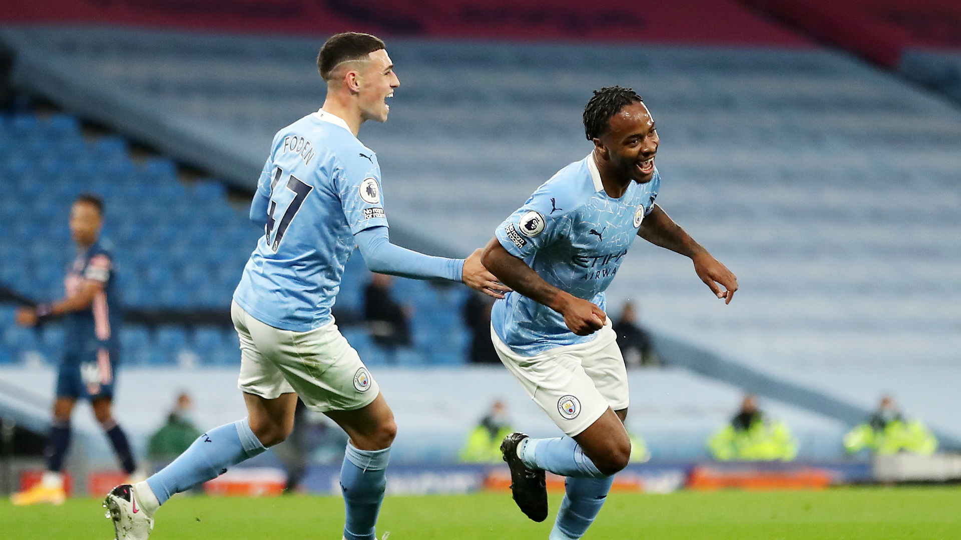Manchester City 1-0 Arsenal: Sterling lifts City from slump