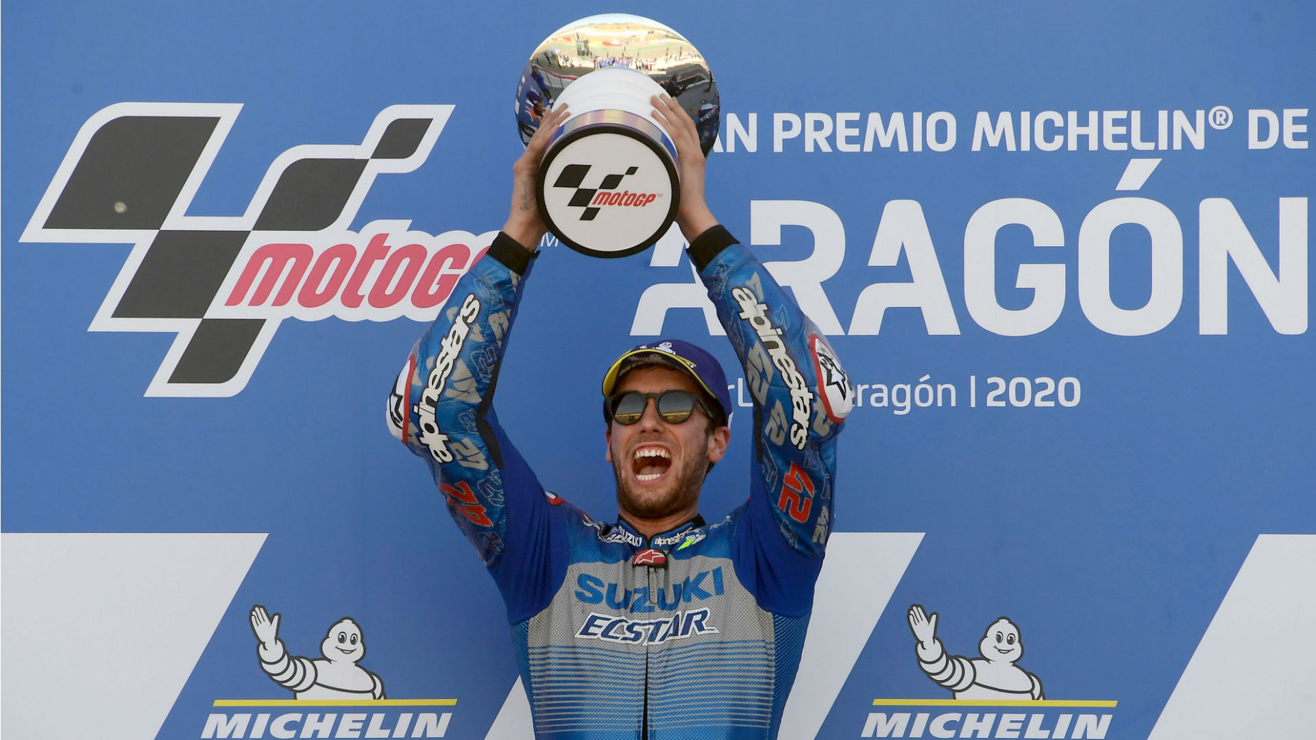 MotoGP 2020: Rins and Marquez revel in Aragon success as Mir rues bike issues