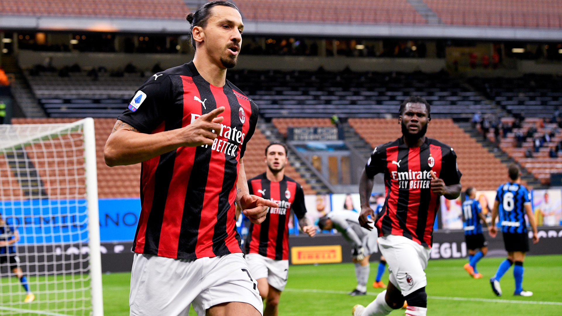 Ibrahimovic haunts Inter to put Milan back in Scudetto picture at last