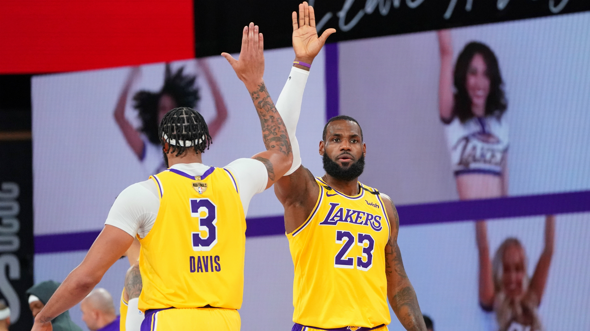 NBA Finals: No jealousy between Lakers superstars LeBron ...