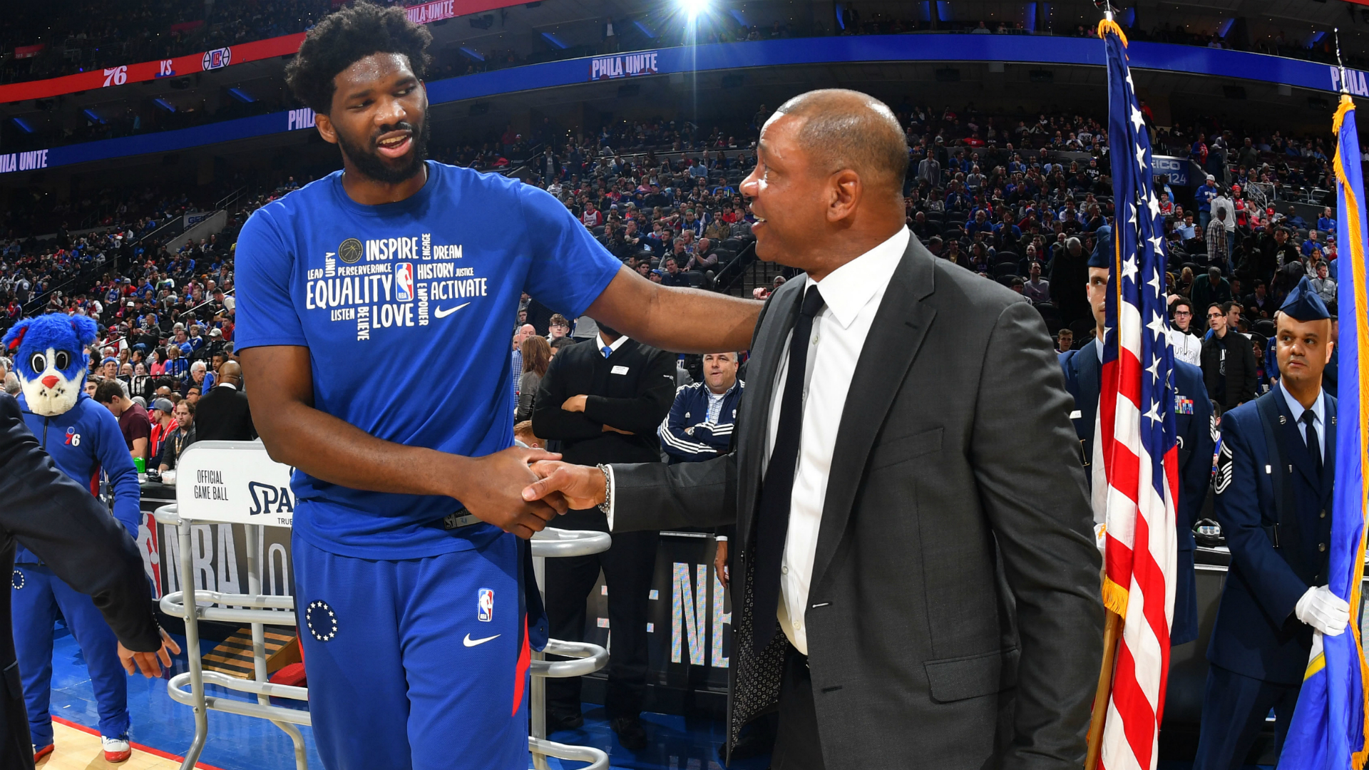 Embiid welcomes Rivers to 76ers after Philadelphia reportedly agree deal