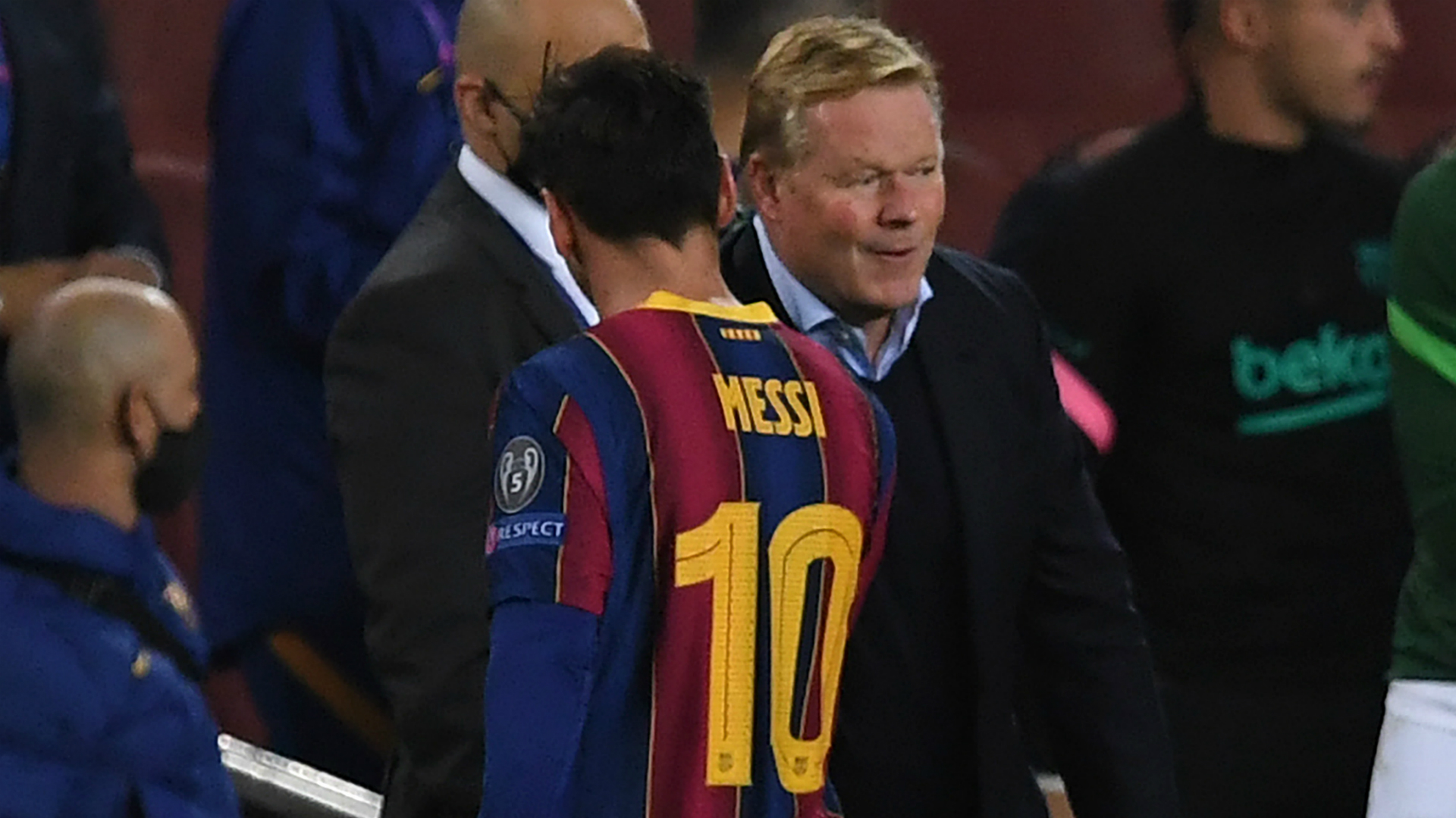 Barca have great future but Koeman urges patience following Champions League rout