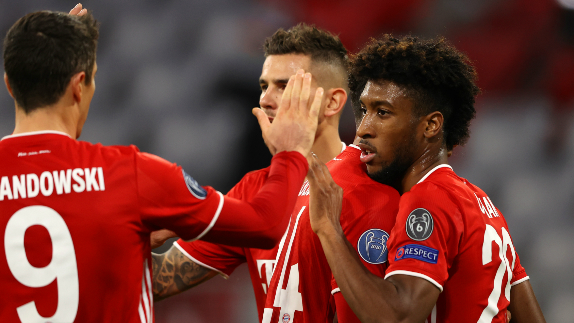 Bayern Munich 4-0 Atletico Madrid: Holders win easily as Coman stars again