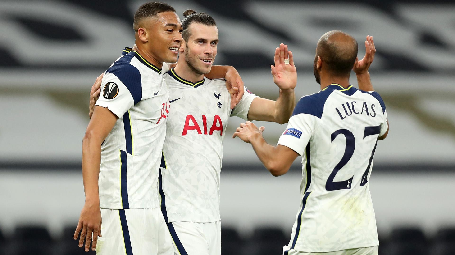 Tottenham 3-0 LASK: Bale starts as Spurs ease to Europa League win