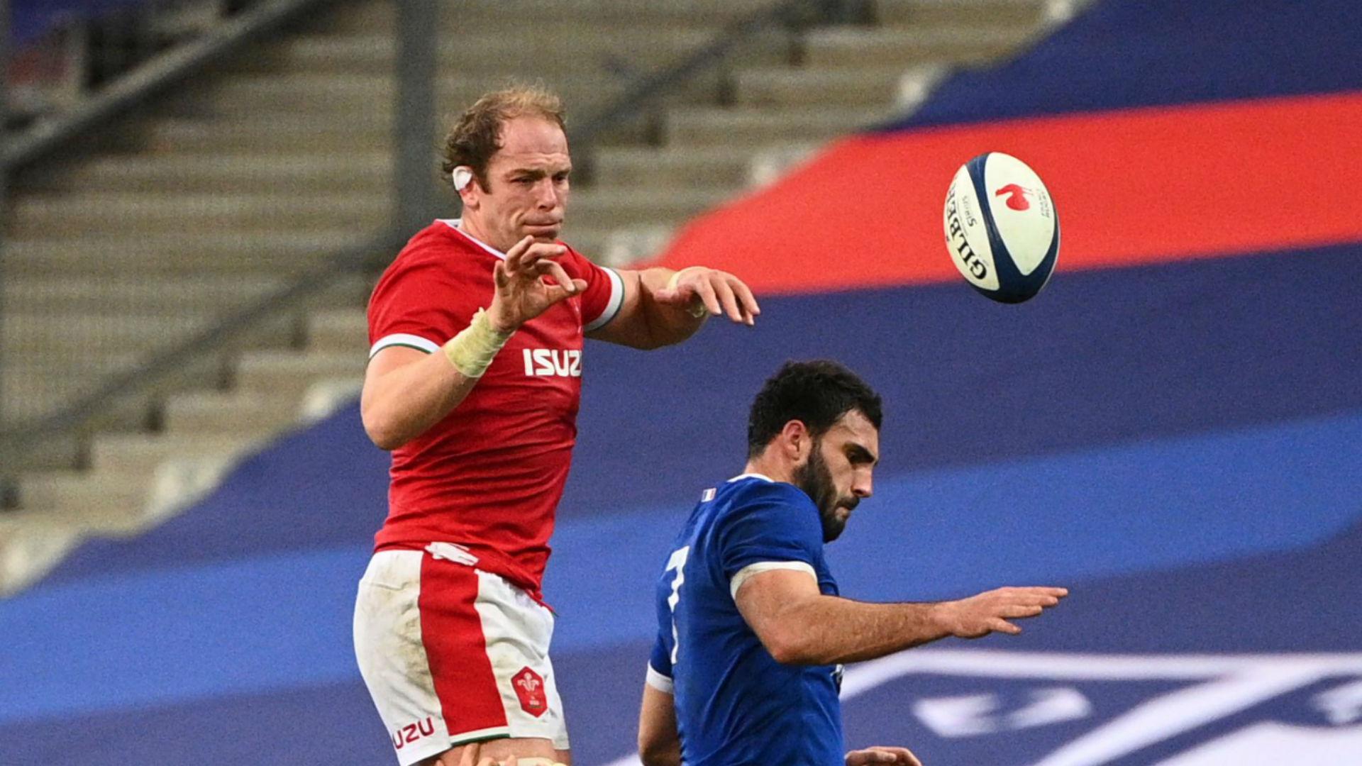 France 38-21 Wales: Dupont double spoils Jones landmark appearance