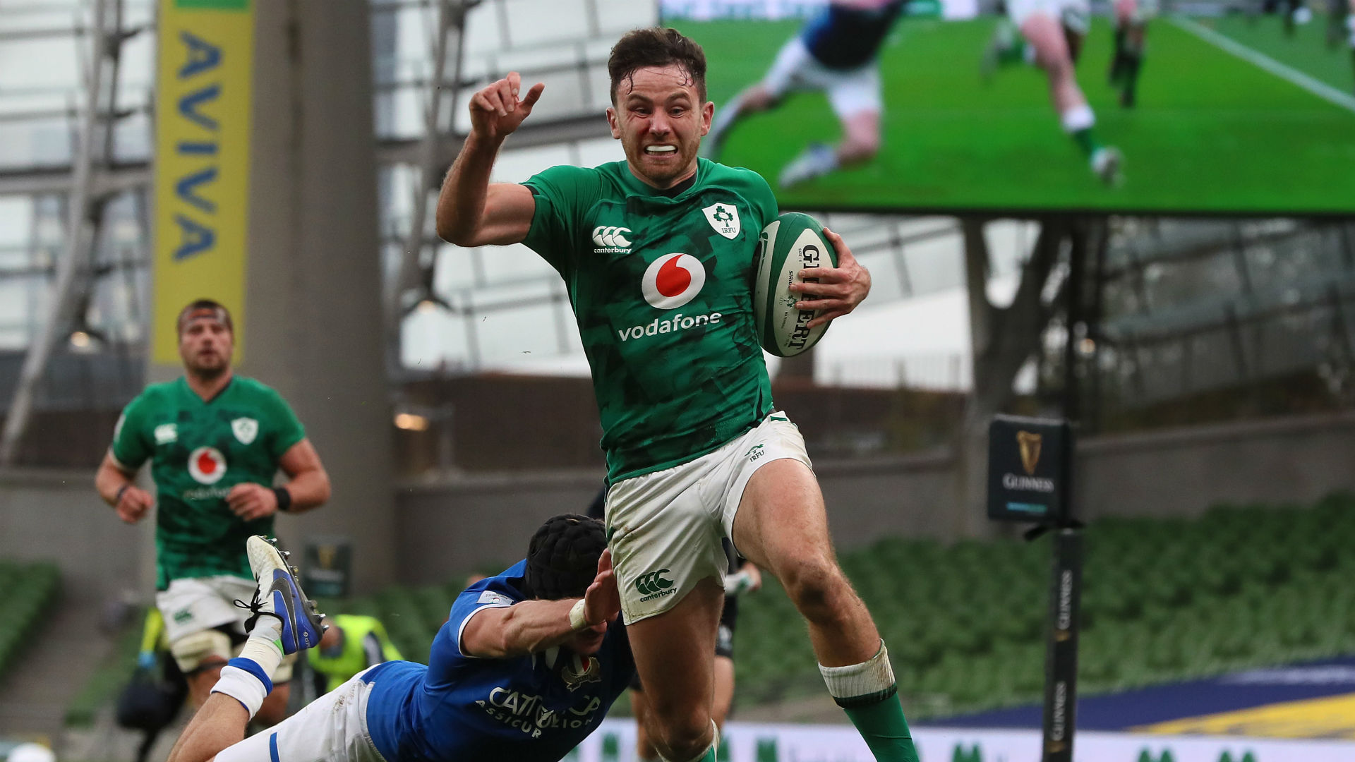 Six Nations 2020: Ireland 50-17 Italy