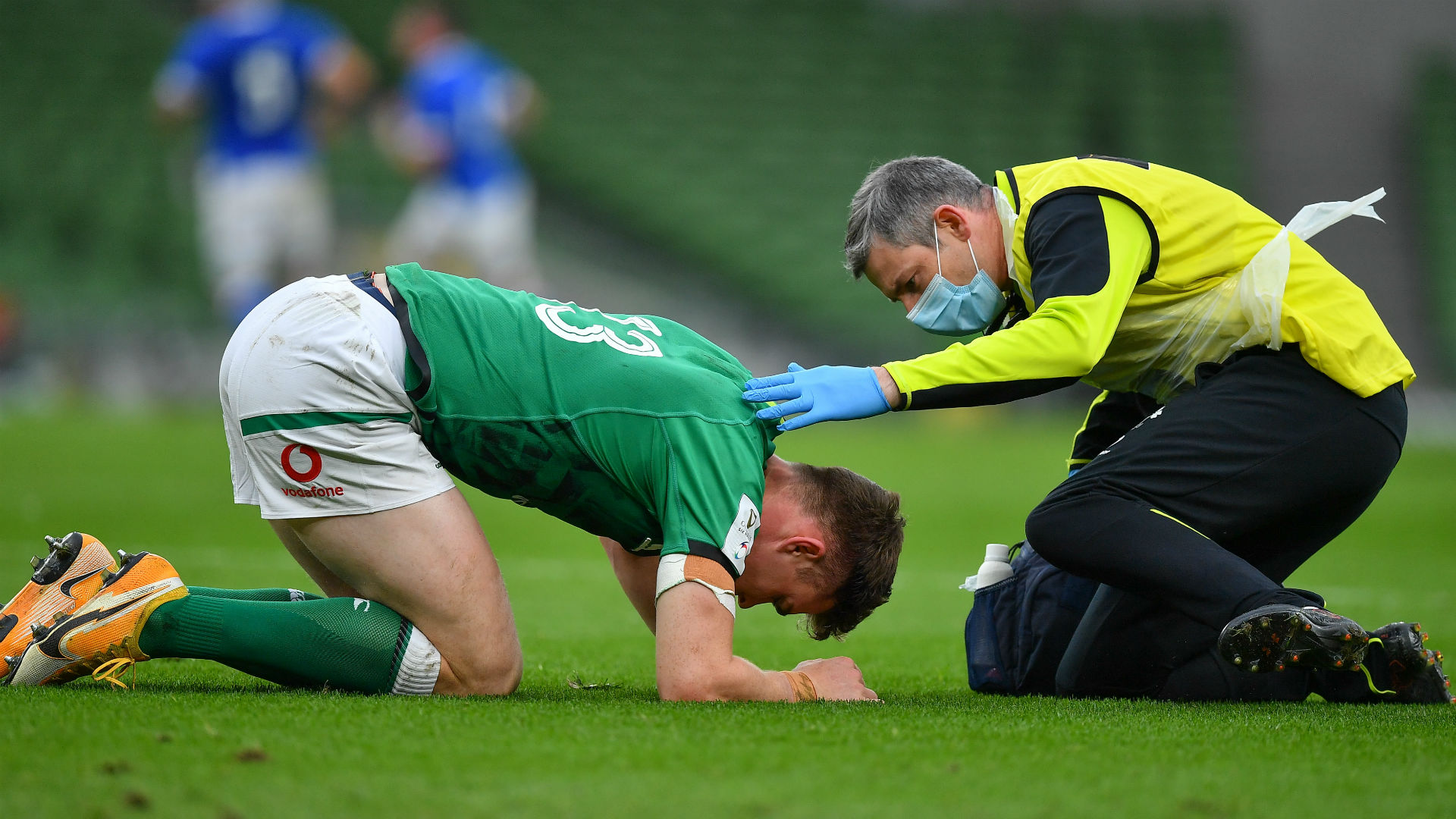 Ringrose ruled out of France showdown with broken jaw