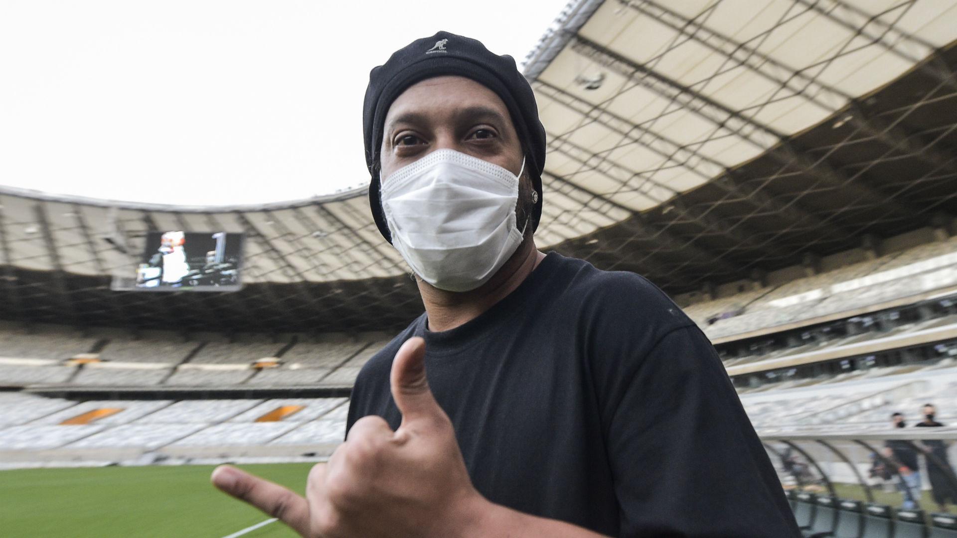 Brazil and Barcelona great Ronaldinho tests positive for coronavirus