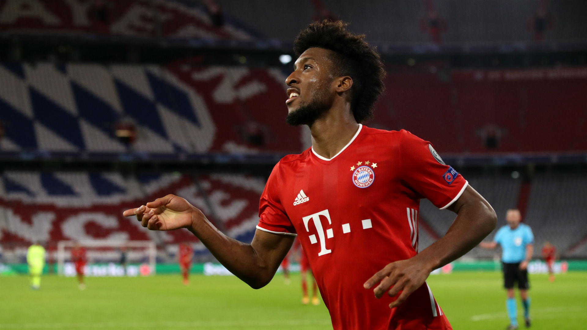 Coman wants another Bayern treble - but this time with fans
