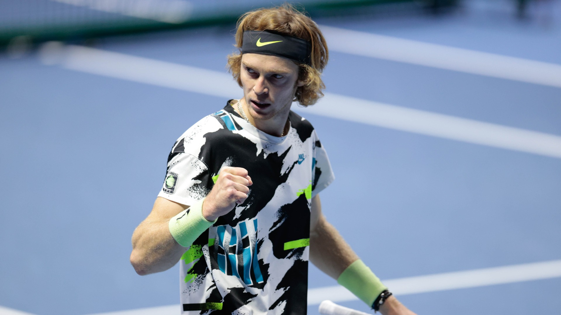 Ruthless Rublev cruises in Vienna as Shapovalov and injured Monfils crash out