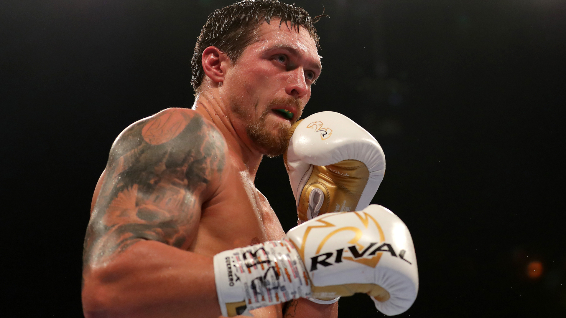 Joshua questions Usyk's 'pitty-patty' style ahead of Chisora fight