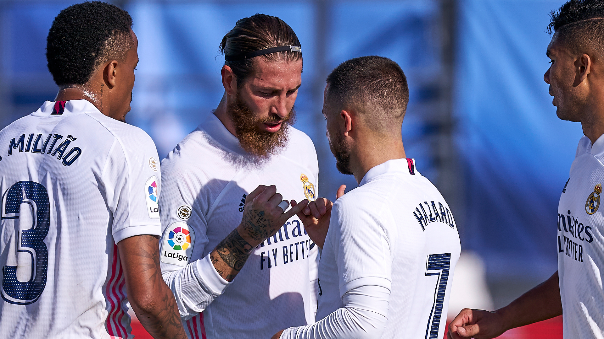 Real Madrid 4-1: Hazard stunner sees champions return to top