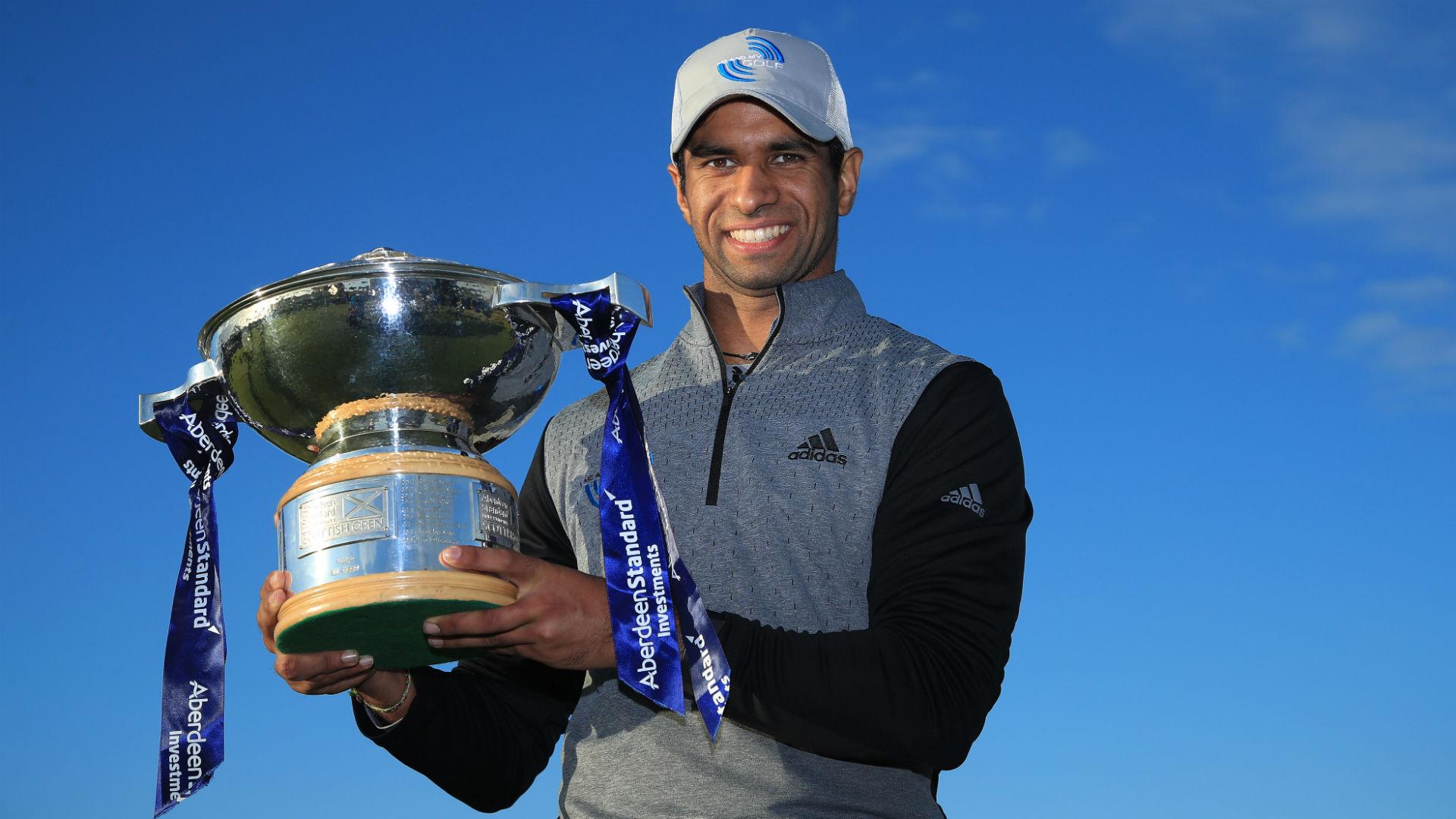 Rai edges Fleetwood in play-off to win Scottish Open