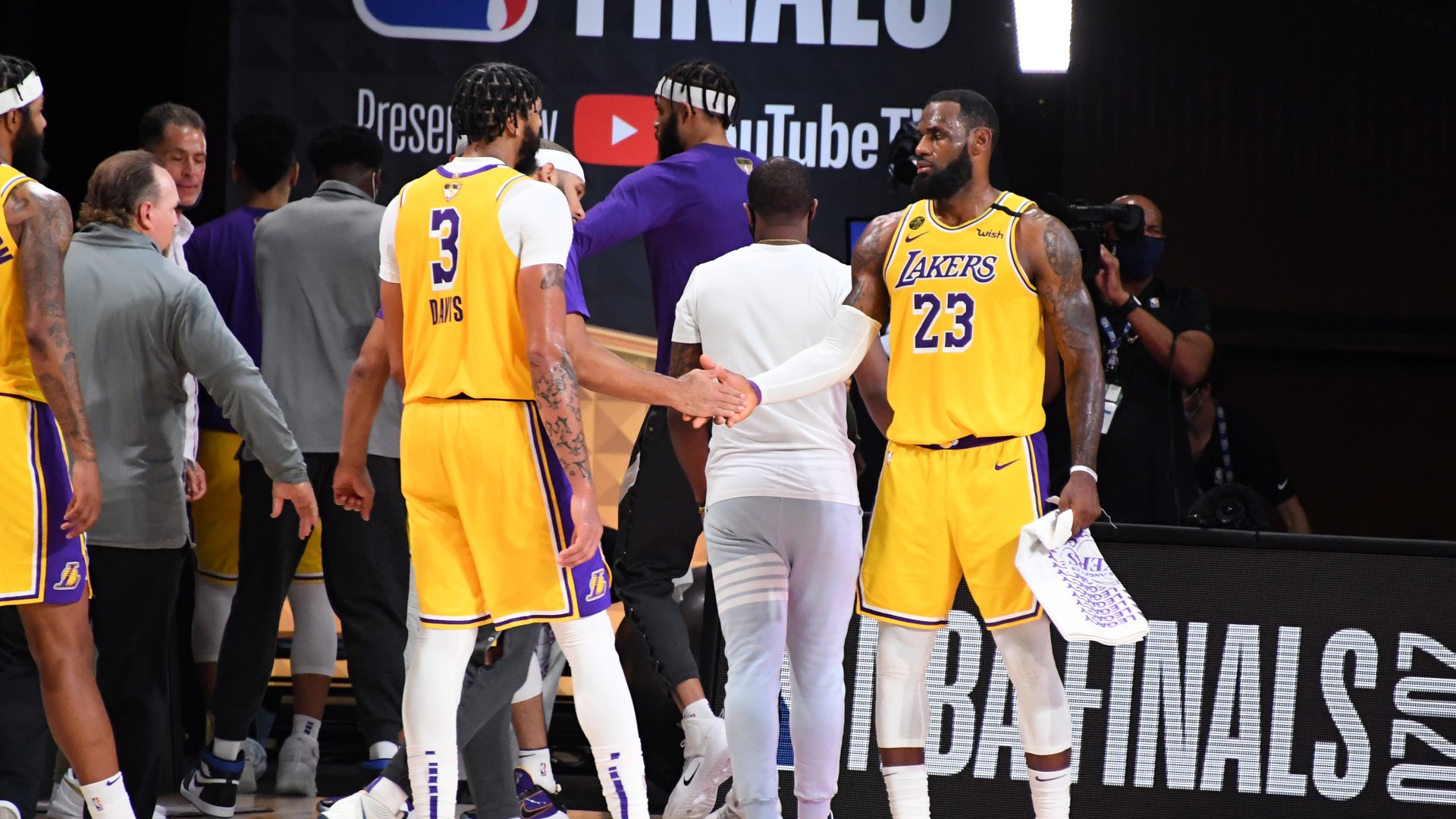NBA Finals: James stars as Lakers move within touching distance of NBA Championship