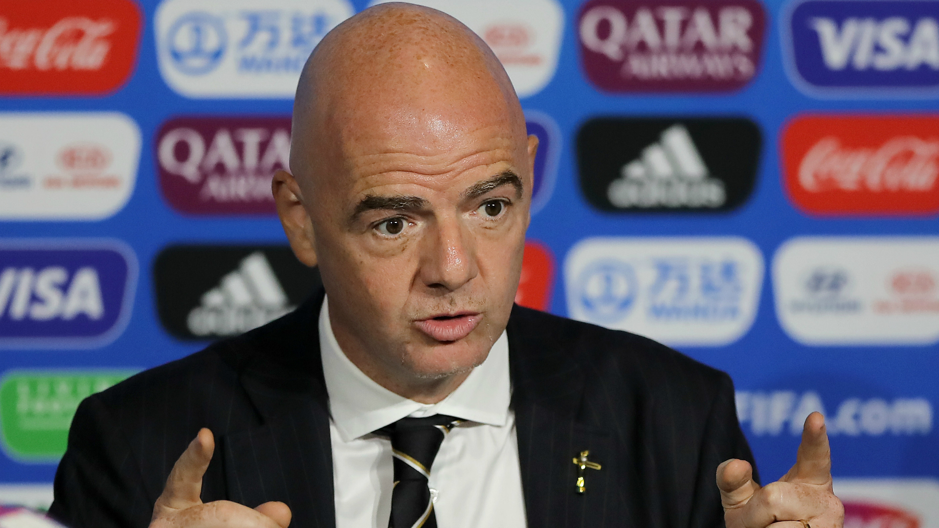 FIFA president Infantino welcomes law changes that improve workers' rights in Qatar