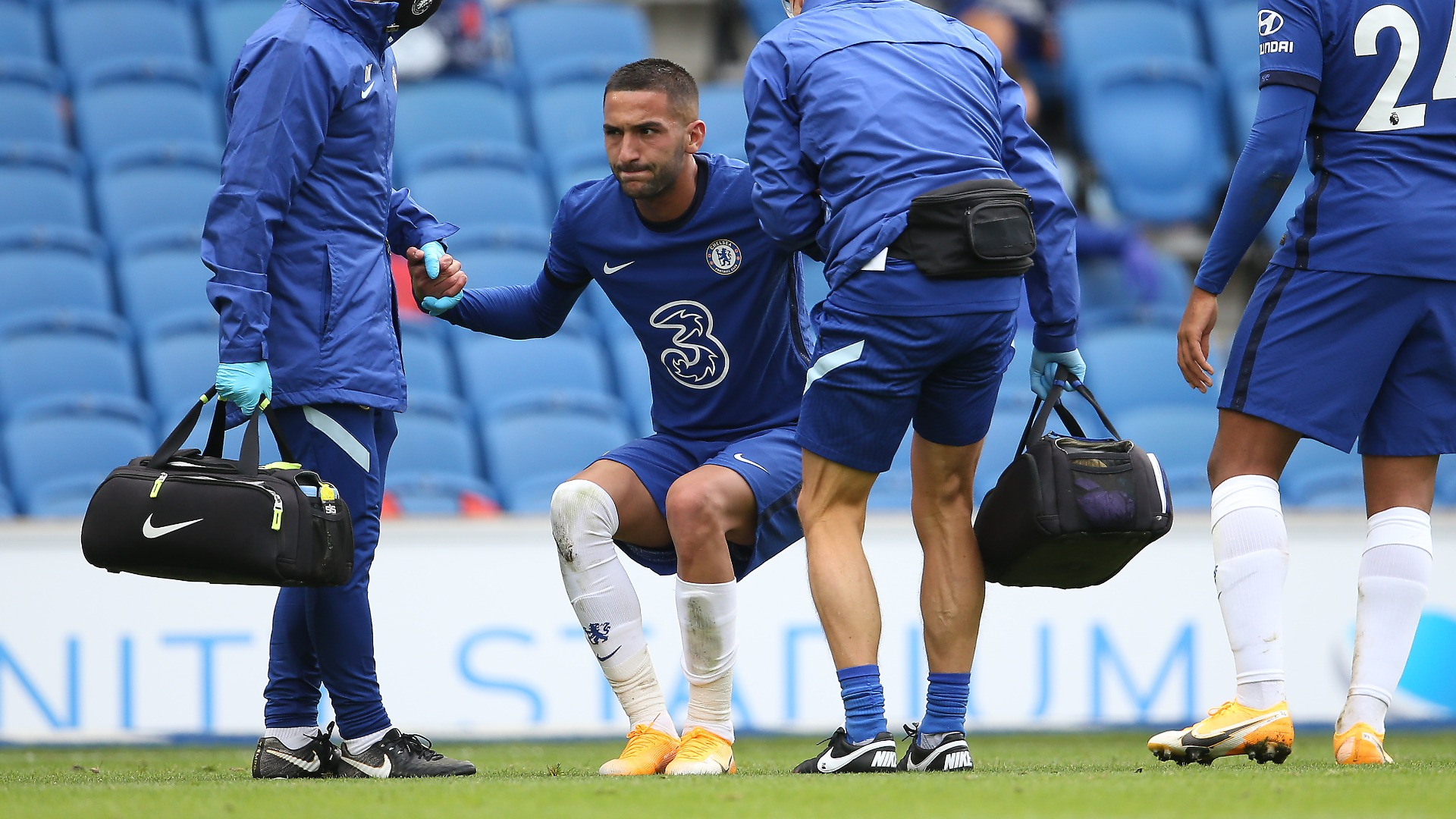 Chelsea without Ziyech, Silva and Chilwell for Brighton opener