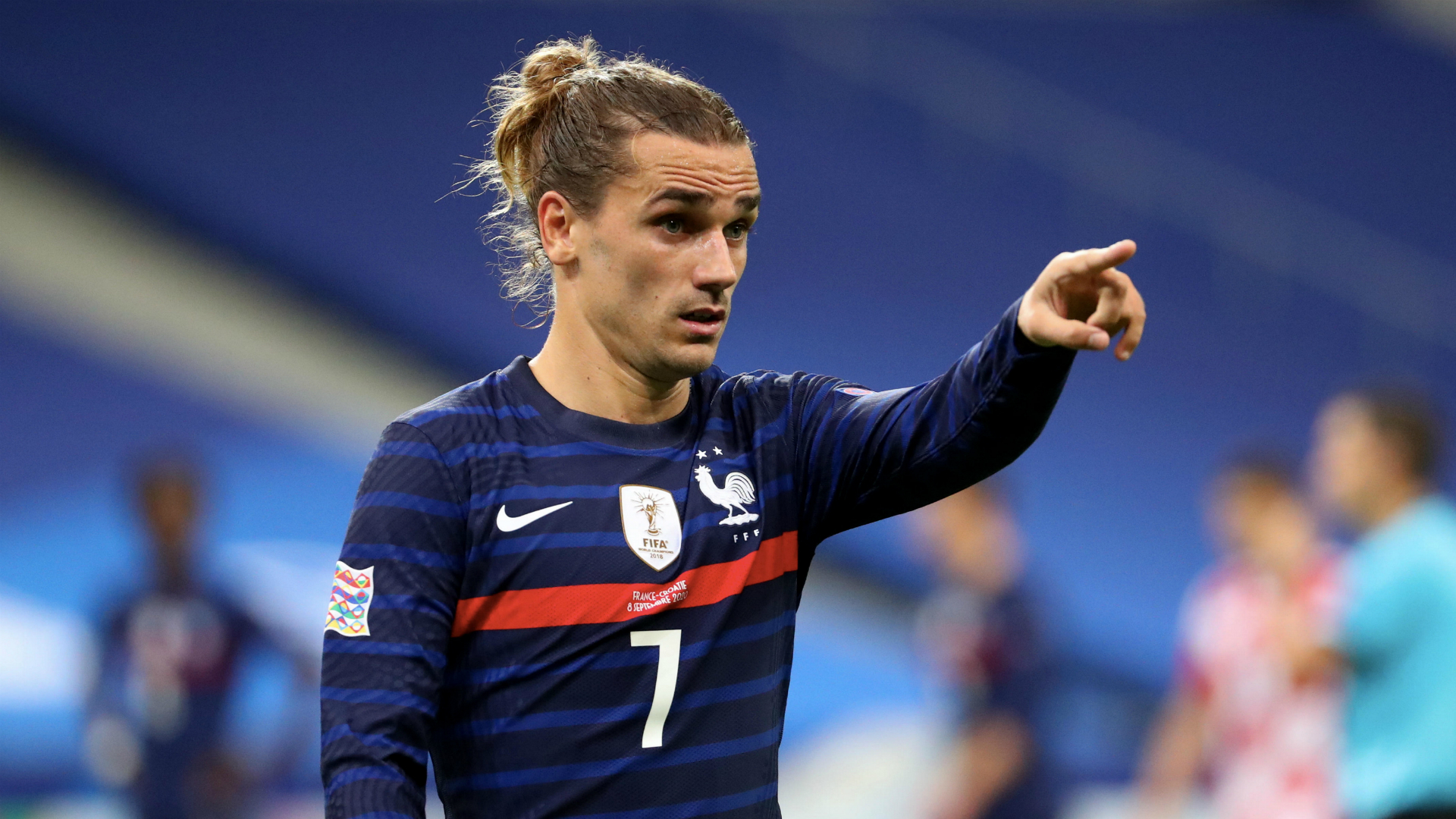 Griezmann finally gets Barca number seven shirt – as NBA star Kevin Durant delivers the big reveal