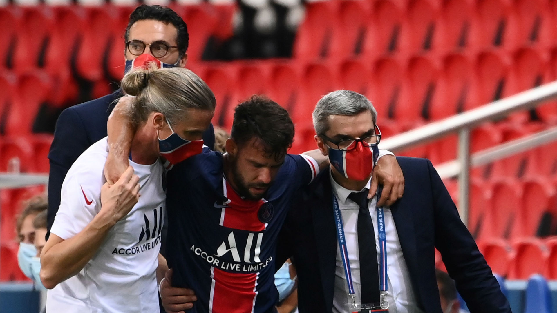 Paris Saint-Germain defender Bernat suffers ACL injury