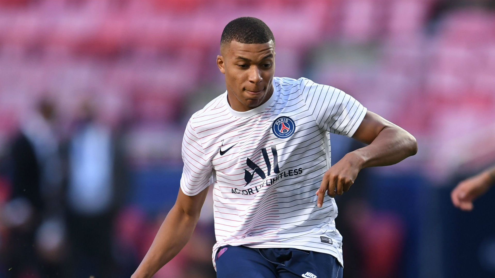 Mbappe continues individual training ahead of PSG's Nice clash