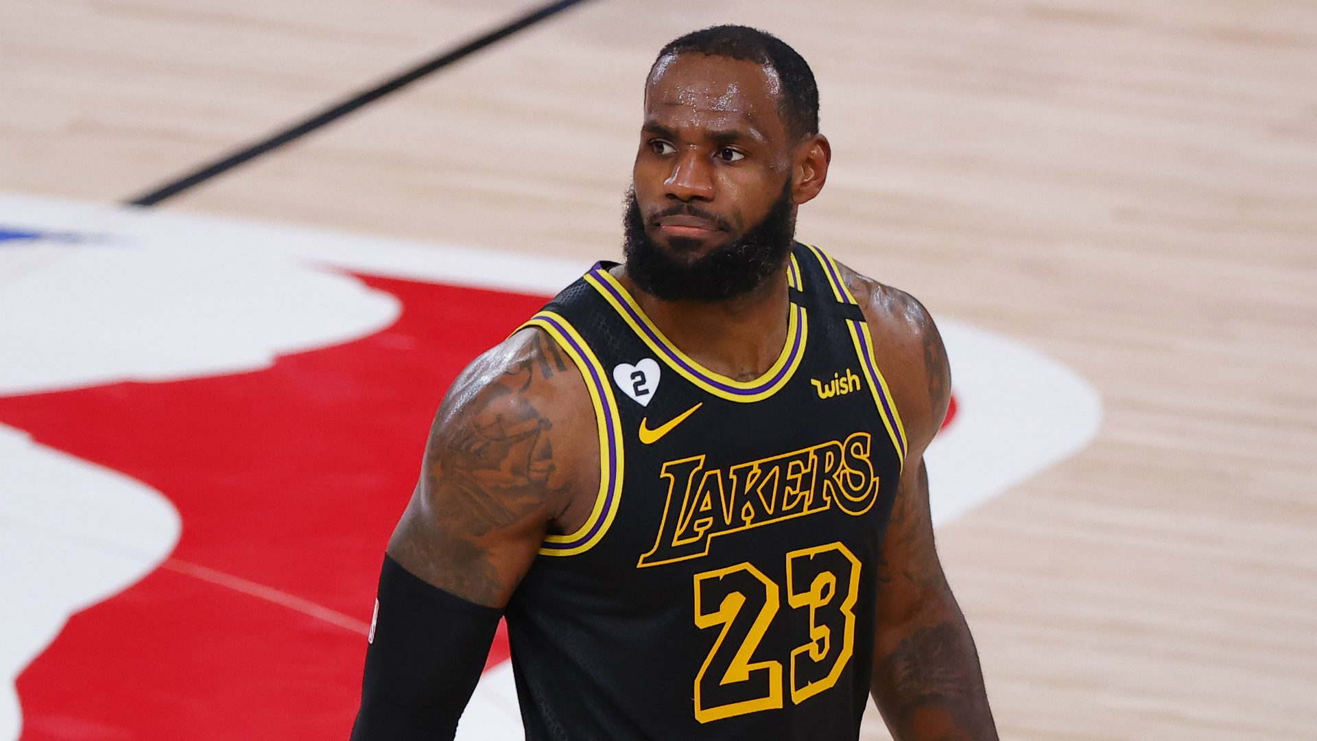 LeBron James dismisses Clippers talk as Lakers star hails Nuggets