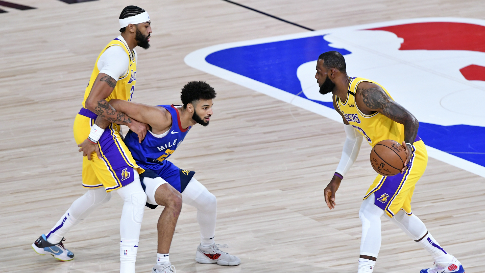LeBron's Lakers beat Nuggets in Western Conference finals opener