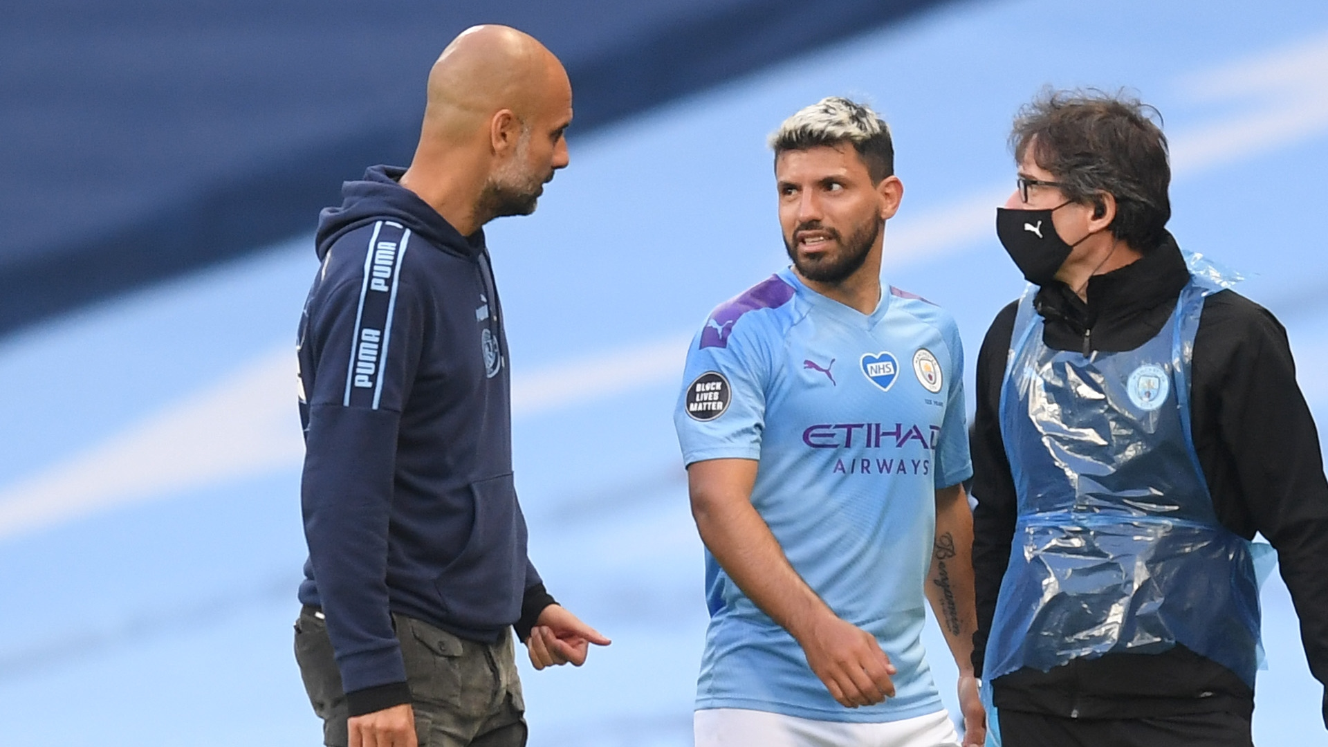 Aguero could be out for two more months, says Guardiola