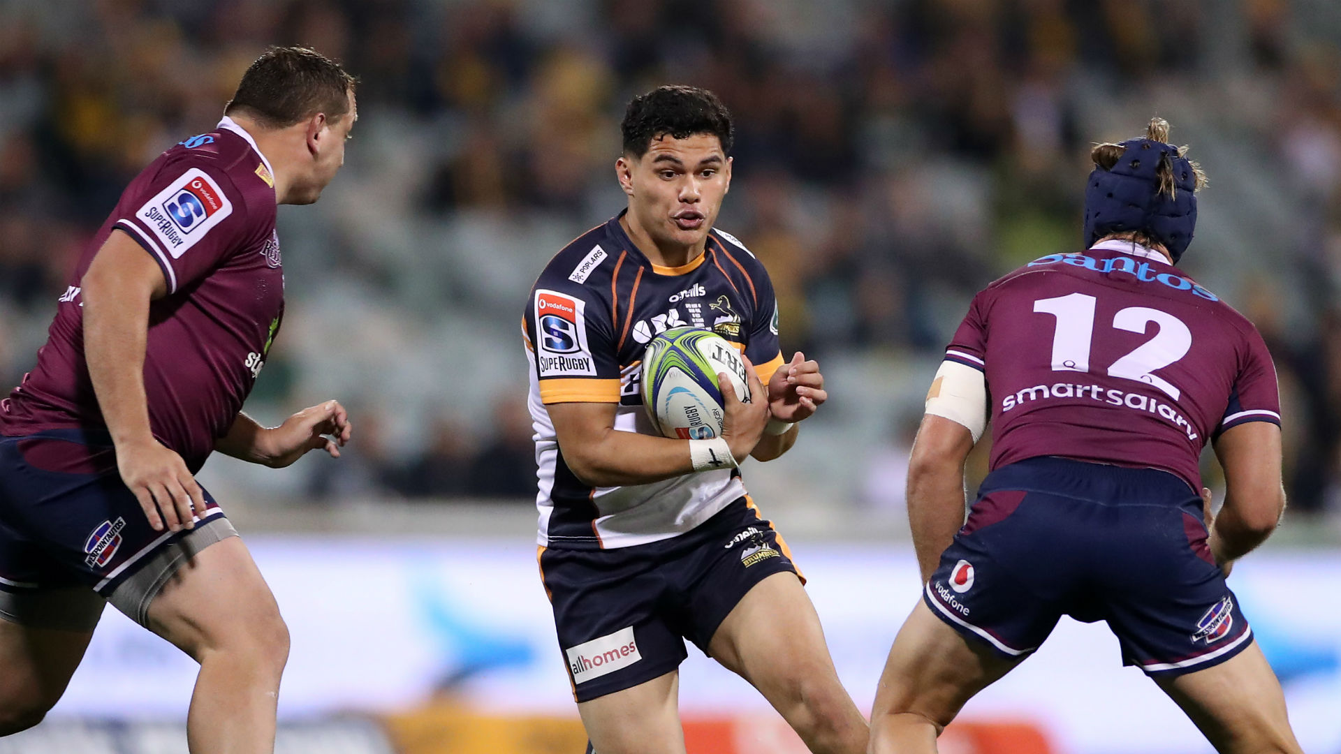 Brumbies 28-23 Reds: Lolesio dazzles to end 16-year wait