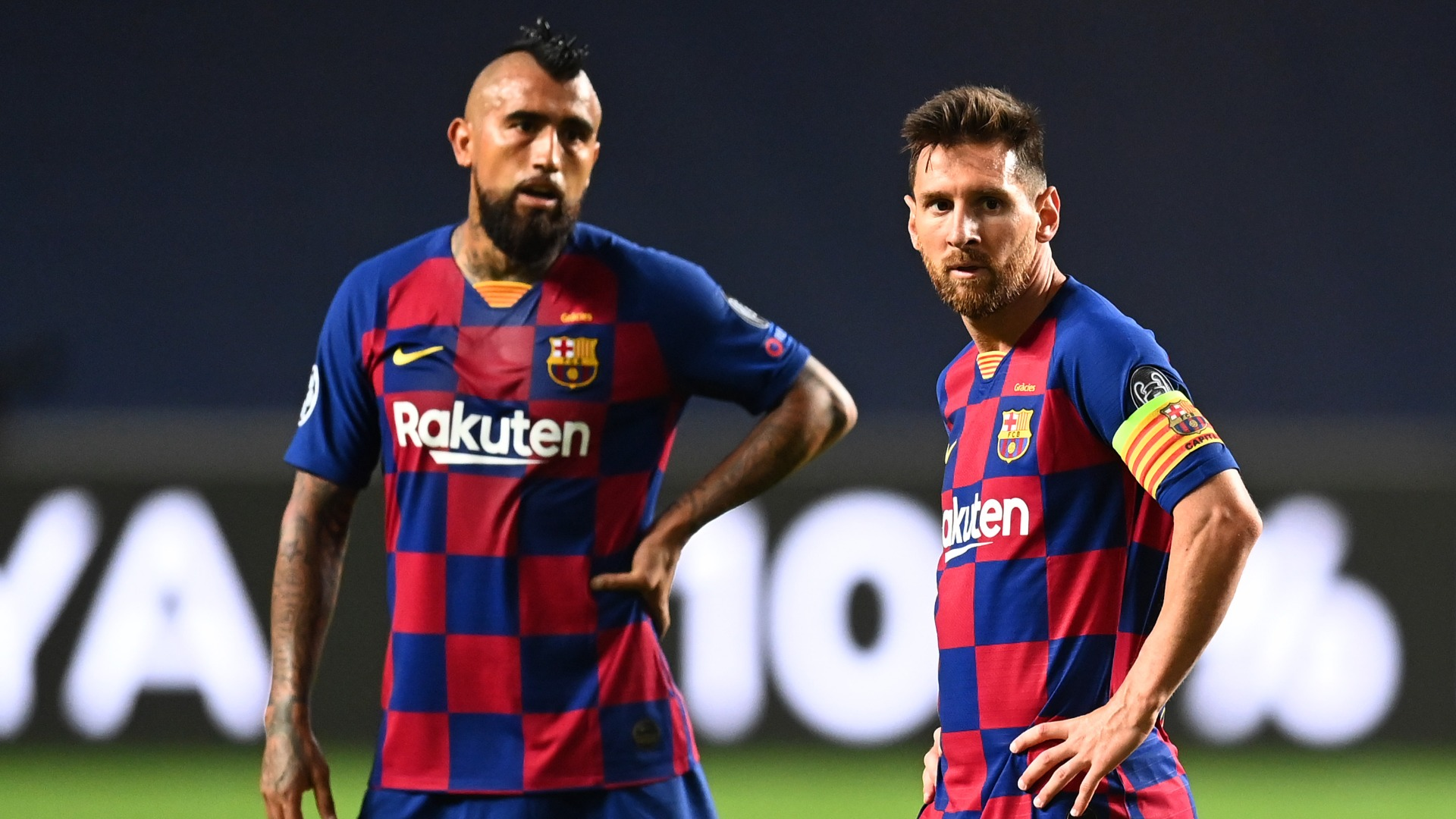 Messi wishes 'phenomenon' Vidal well ahead of Inter move