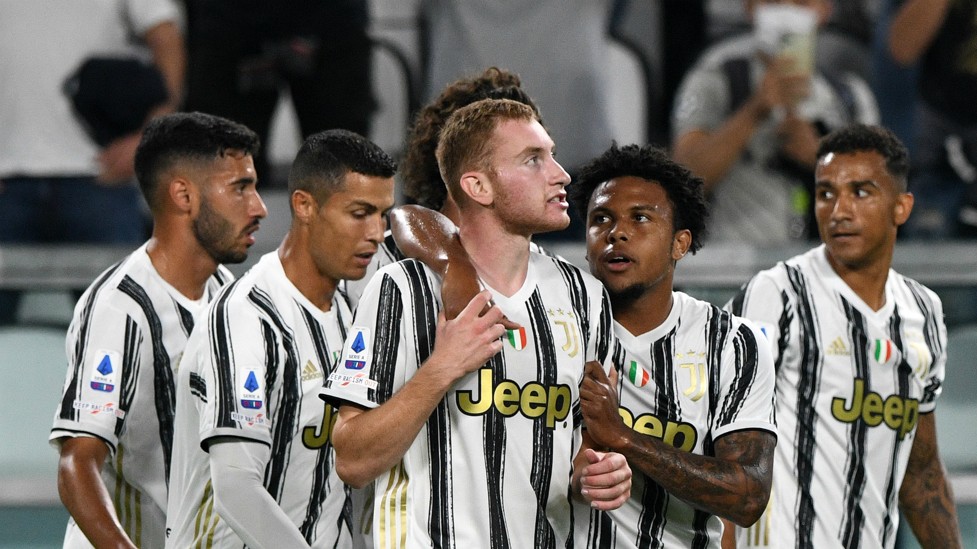 Juventus 3-0 Sampdoria: Kulusevski and Ronaldo help get Pirlo off to winning start