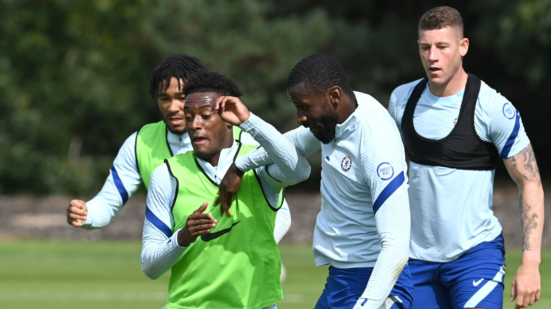 Chelsea exits for Rudiger and Hudson-Odoi not ruled out by Lampard