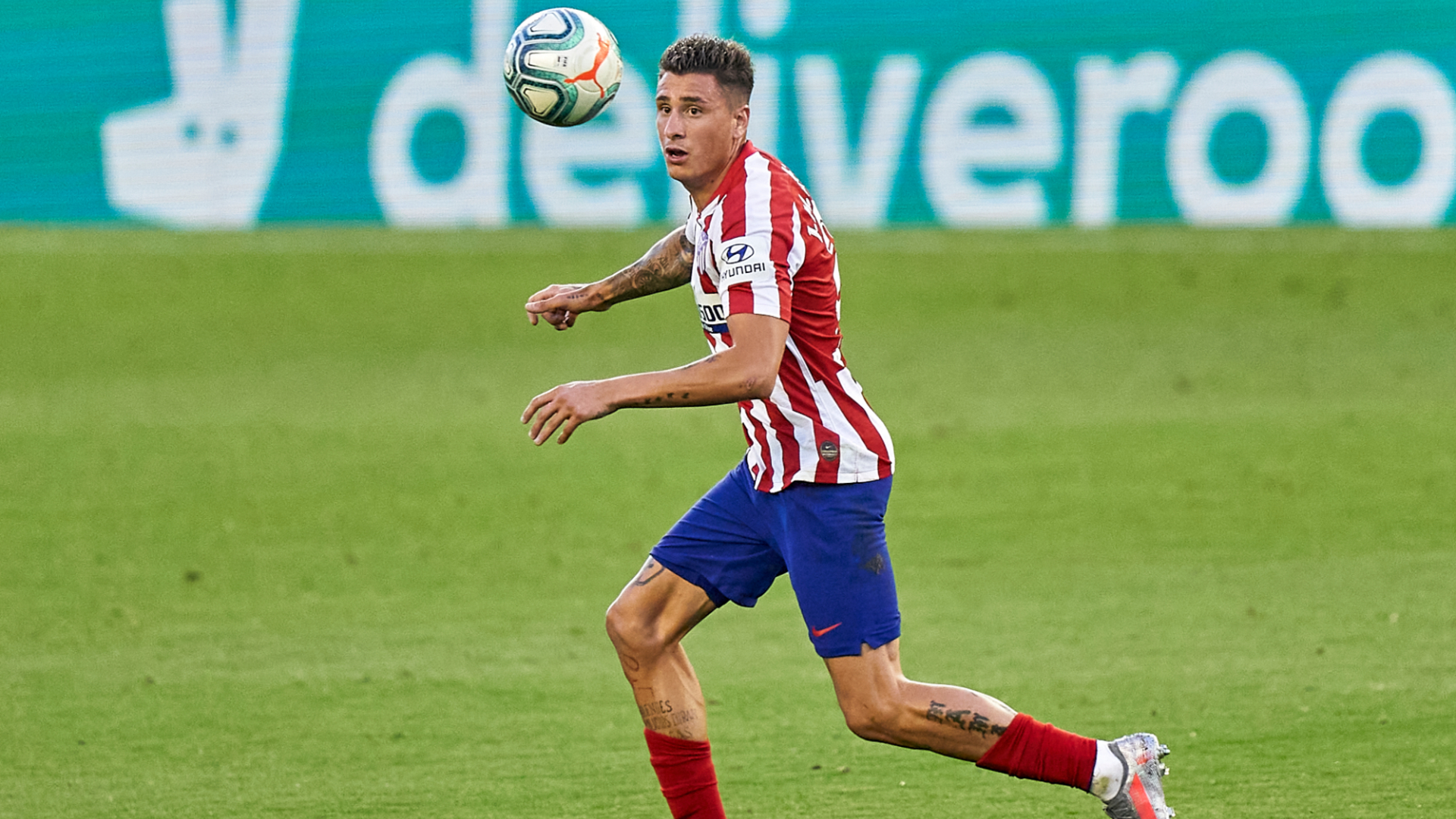 Atletico rejected €85m offer from Man City for Gimenez, says club president