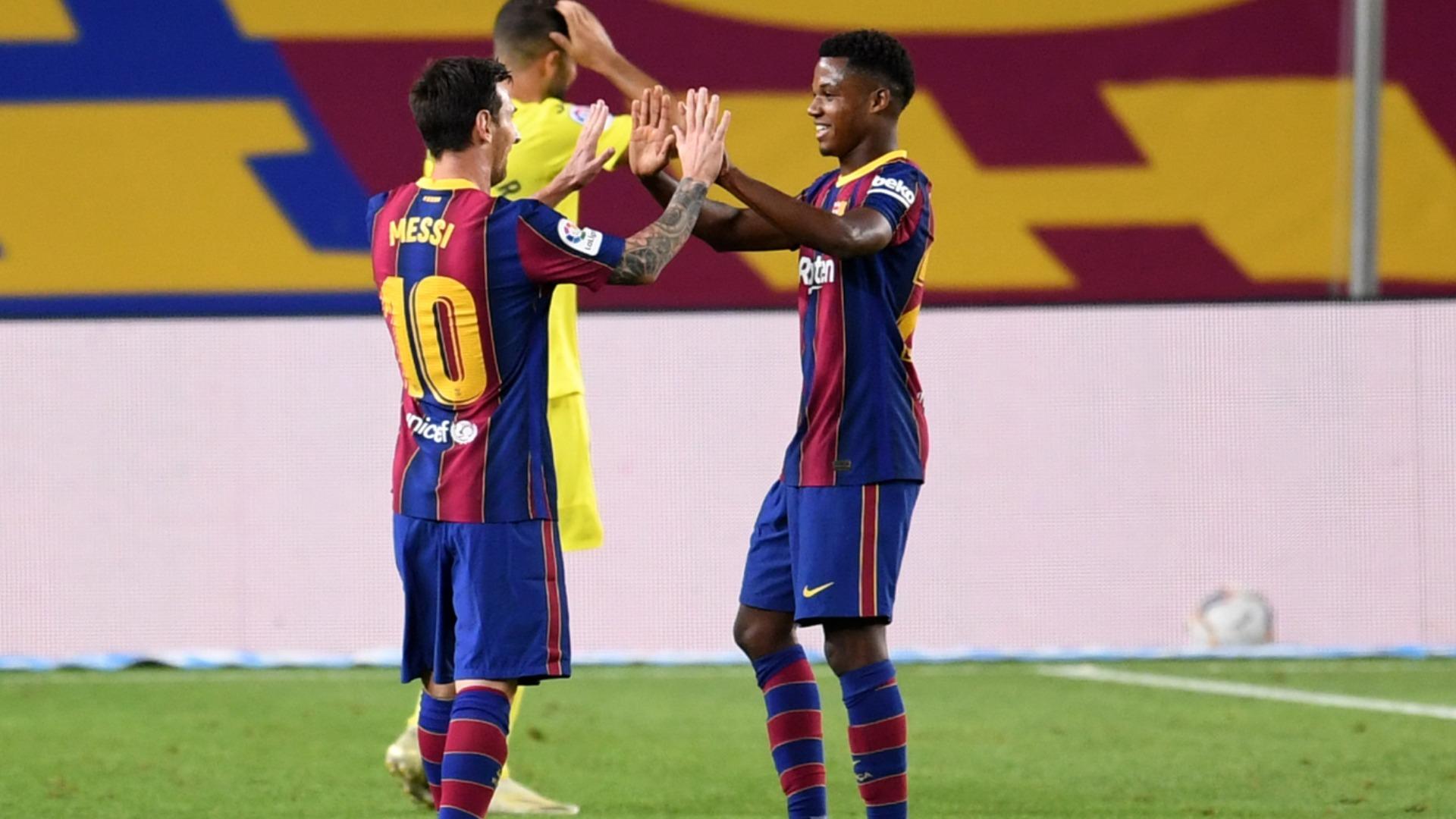 Barcelona 4-0 Villarreal: Fati and Messi get Koeman off to flying start in LaLiga