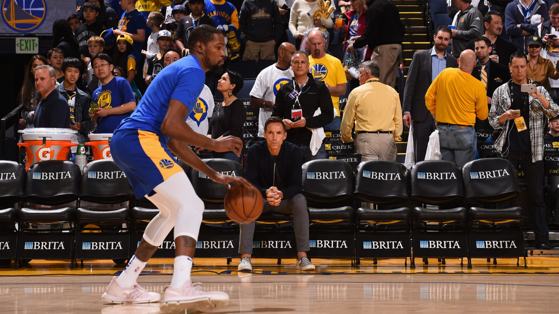 Steve Nash: I have Durant's confidence as Nets coach – that's important!