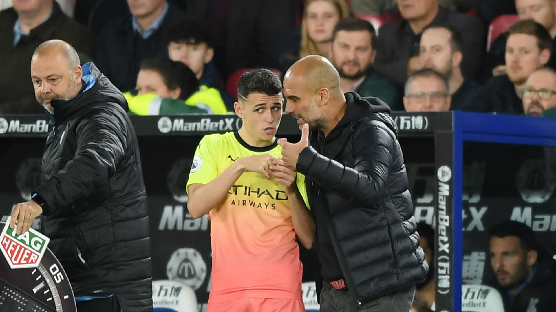 Foden grateful for Guardiola's patience as he looks forward to Sancho reunion