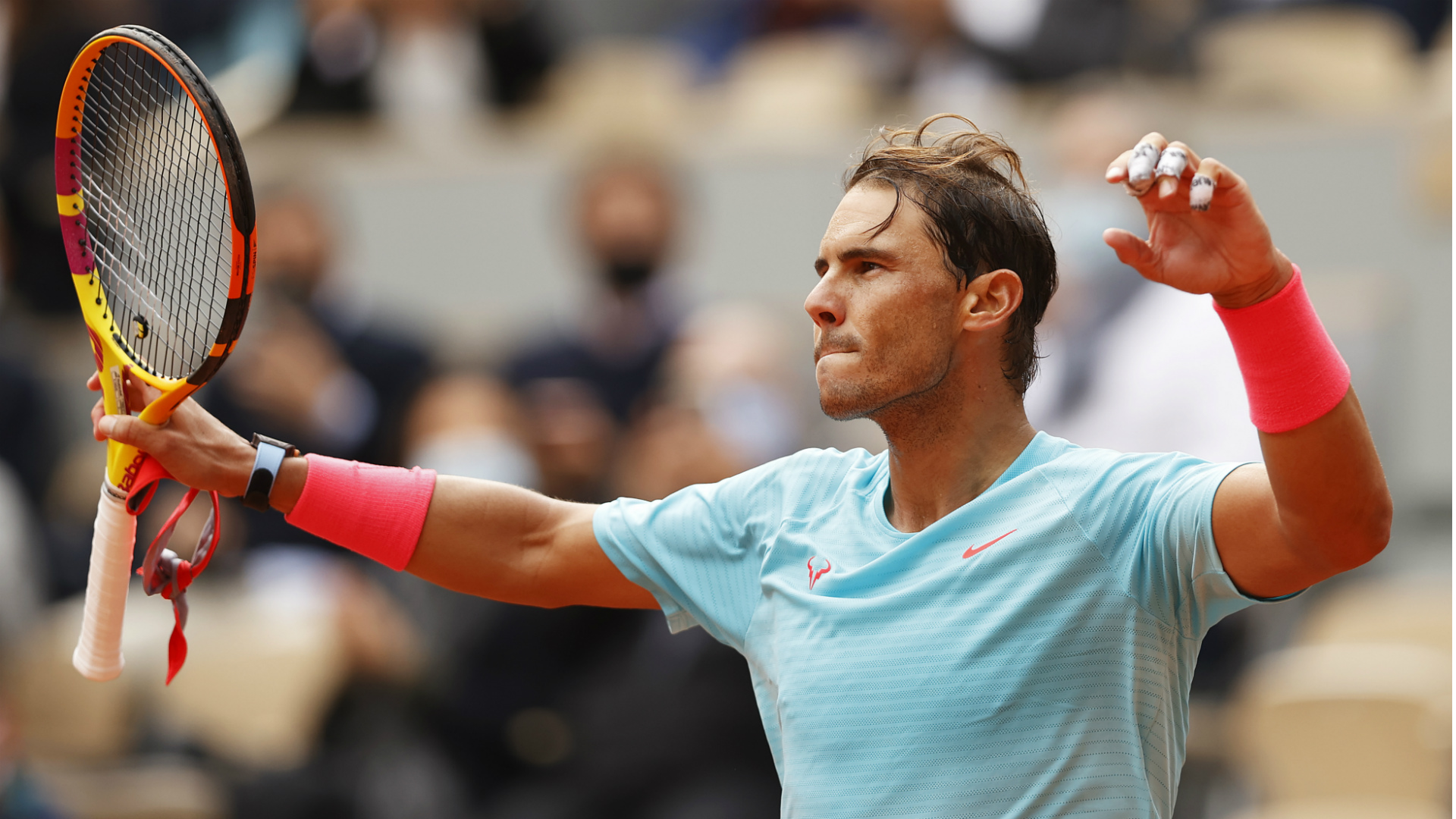 French Open 2020: Rafael Nadal drops just four games in reaching round three