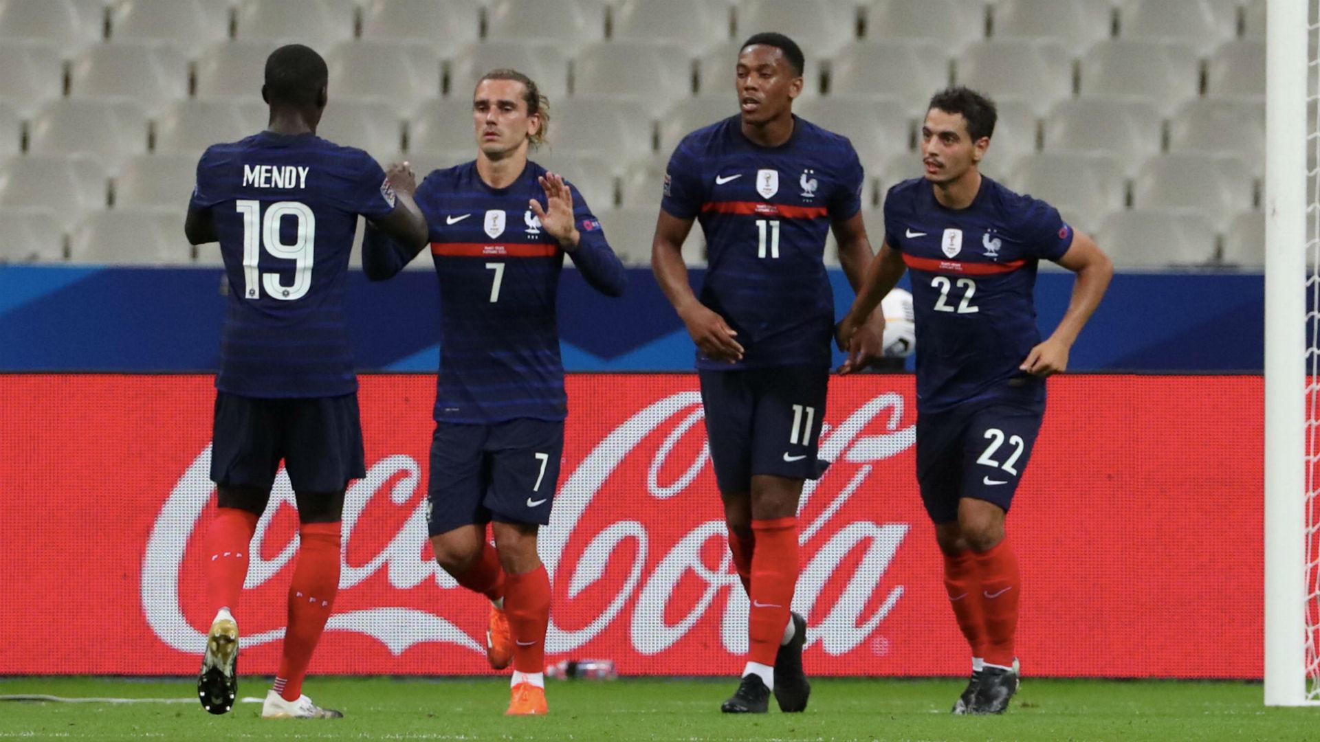 France 4-2 Croatia: Les Bleus win replay of 2018 World Cup final