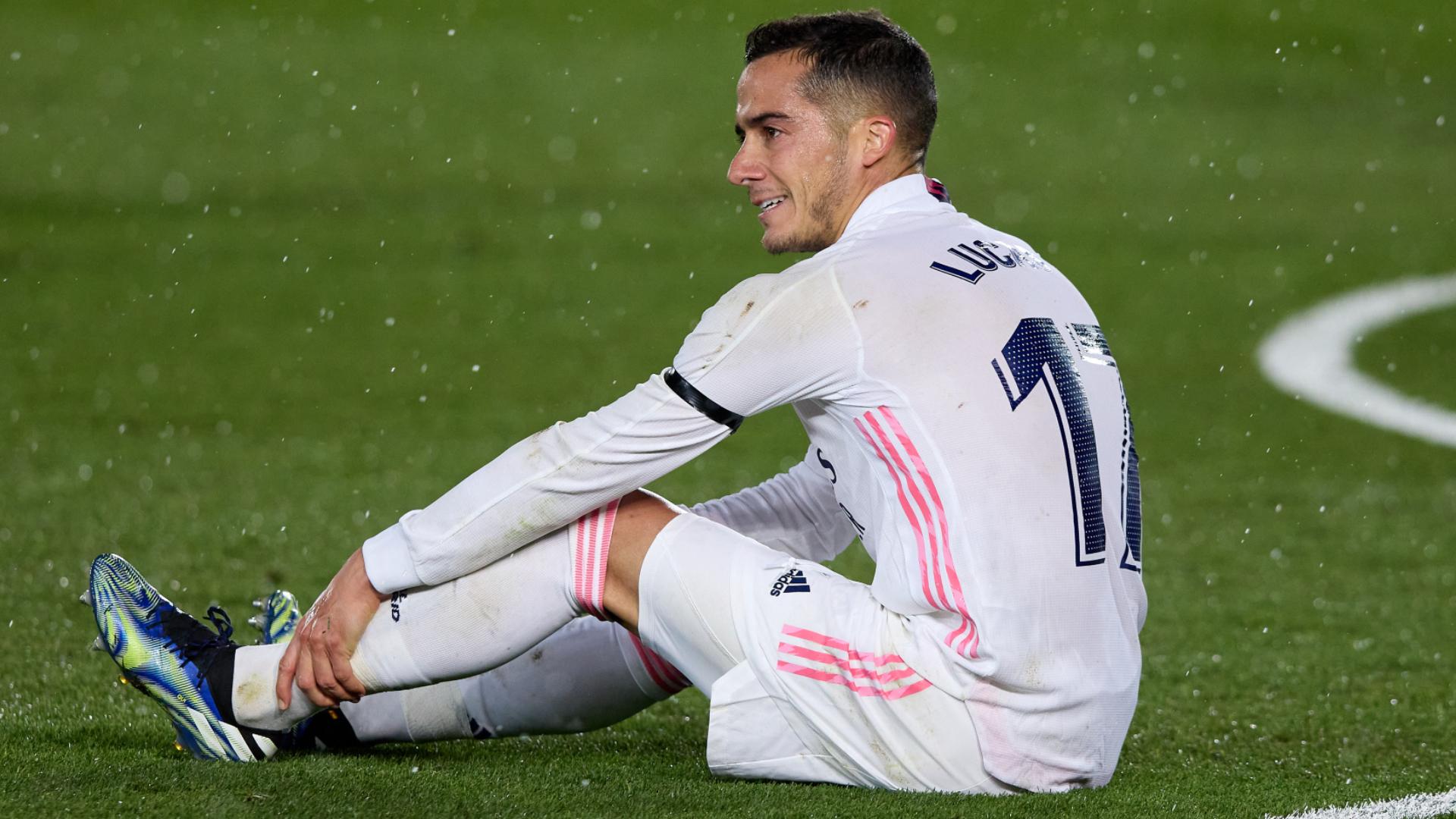 Season over for Lucas Vazquez as Real Madrid confirm knee ligament sprain