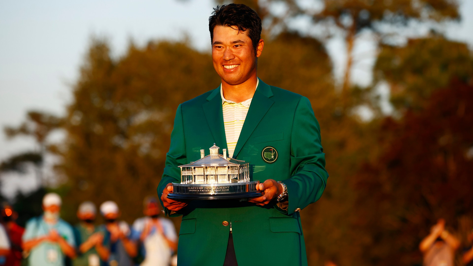 The Masters: Matsuyama hoping to be pioneer for Japanese golf after winning historic green jacket