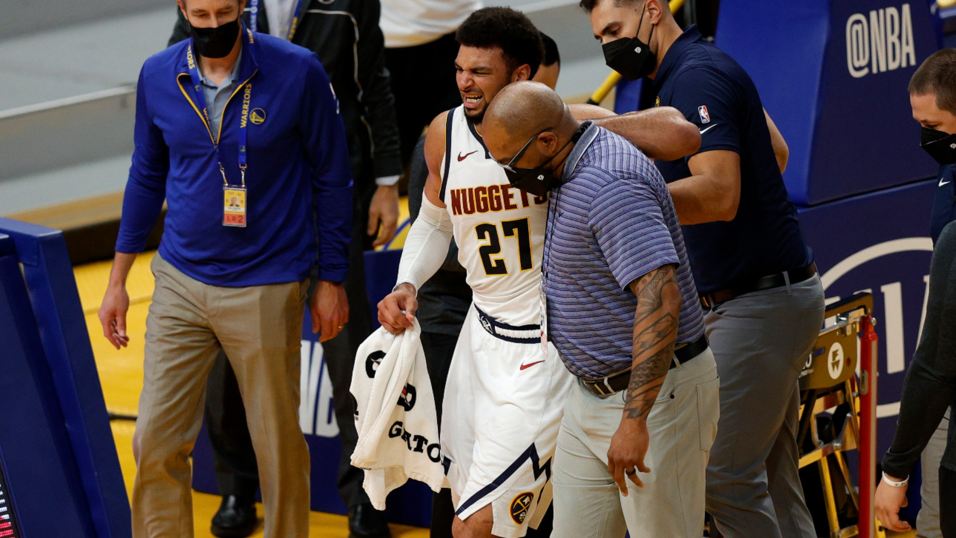 Nuggets star Murray out indefinitely with torn ACL