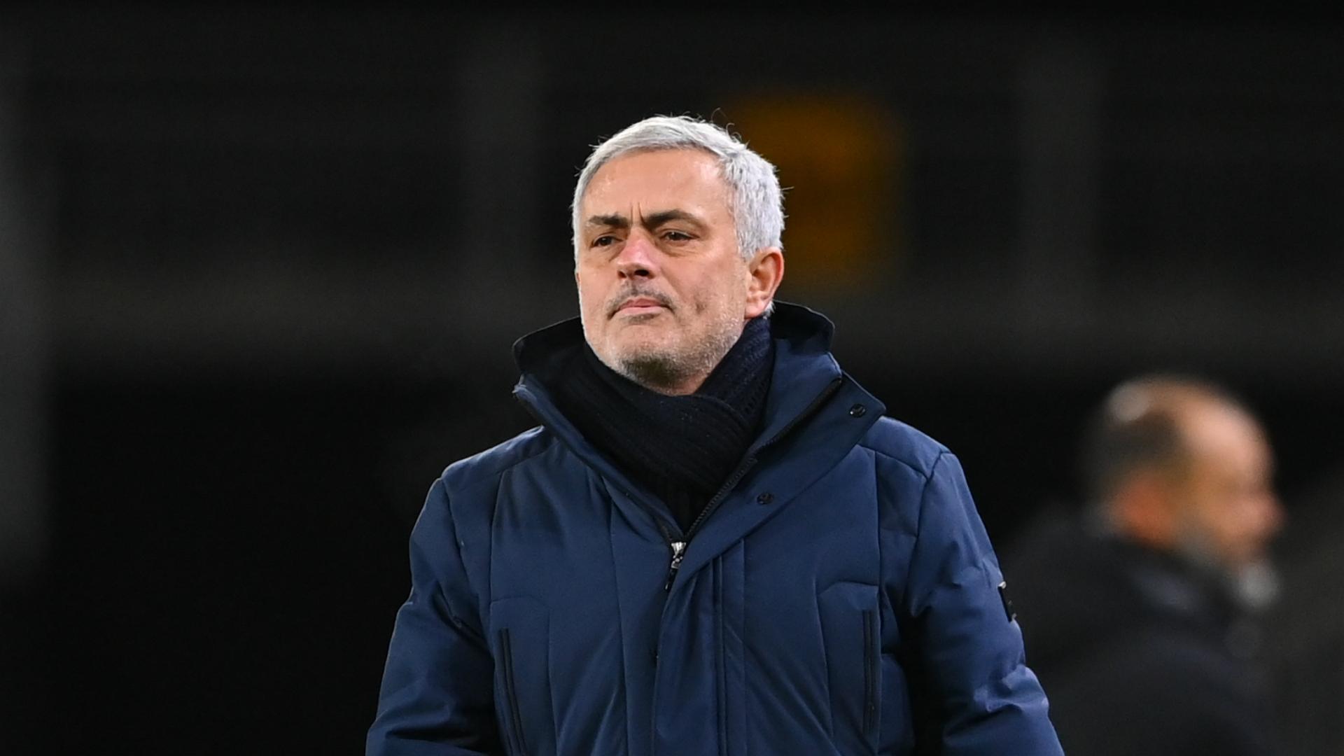 Tottenham's top-four hopes do not rest on Everton clash, insists Mourinho