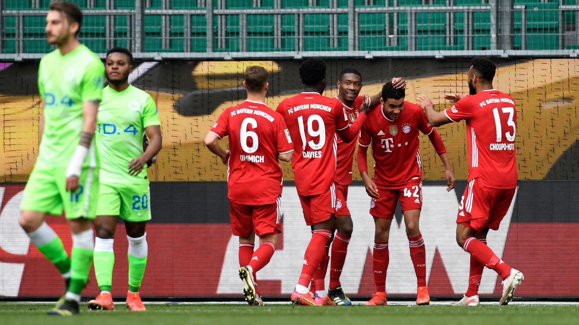 Wolfsburg 2-3 Bayern Munich: Musiala double as champions extend Bundesliga lead