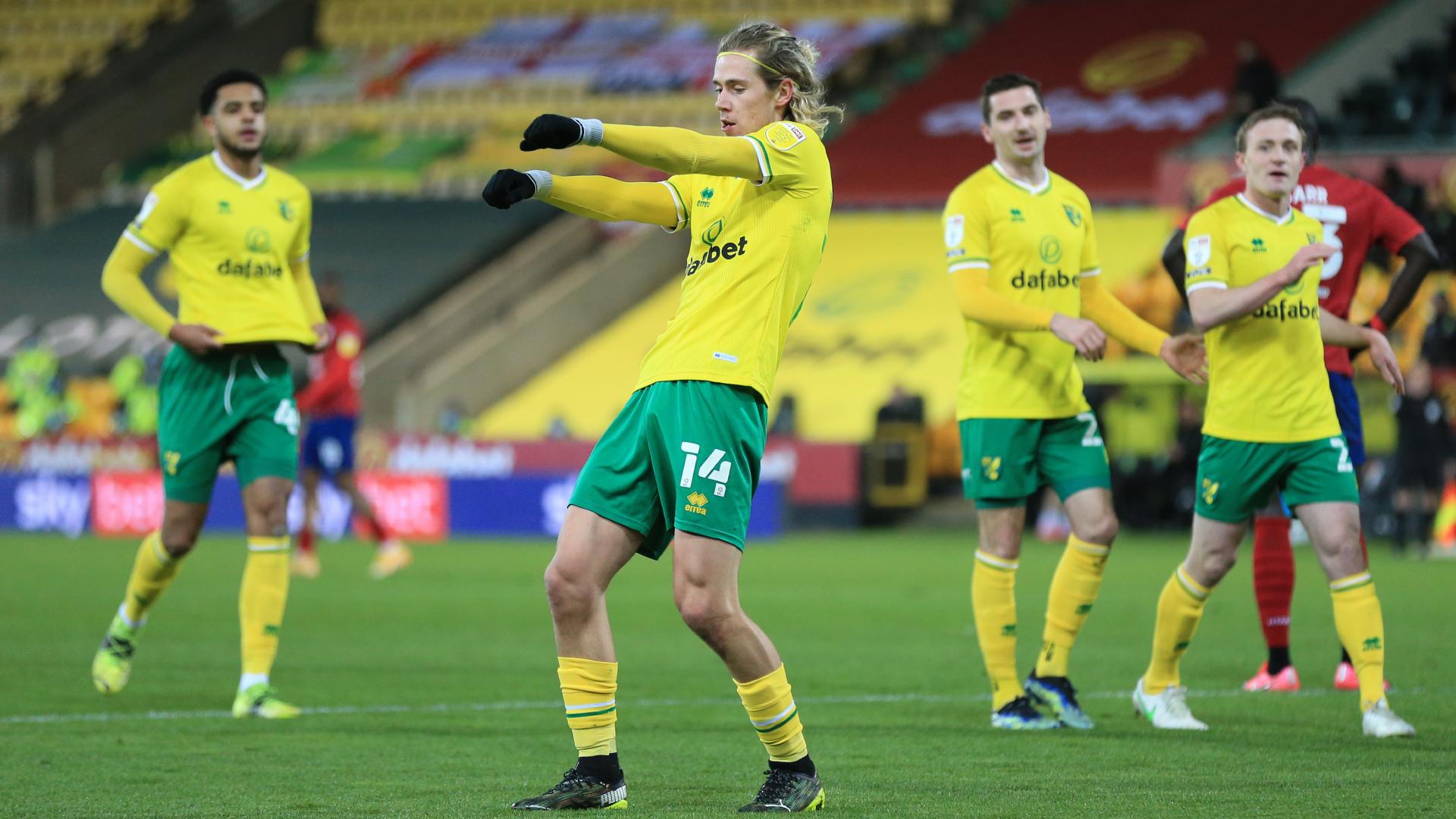 Canaries singing as Norwich clinch Premier League return