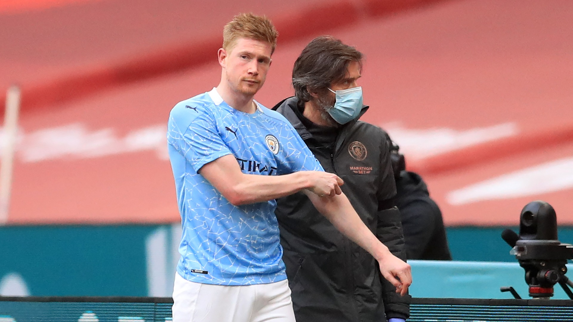 De Bruyne hobbles out of FA Cup semi-final