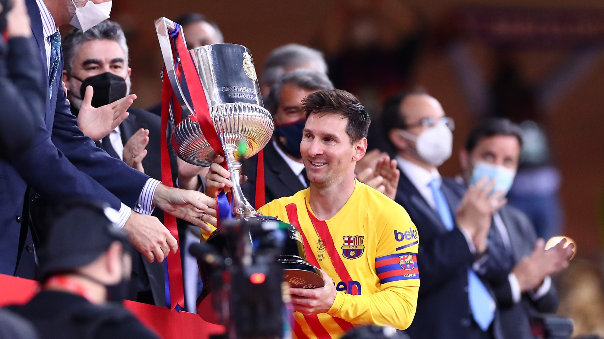 Goals, Barca joy and Athletic pain - Messi's 'final final' ends just like the rest
